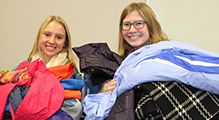 CDH Families Give Generously to Keep Others Warm This Winter