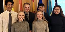 CDH Students Participate in Model UN Conference