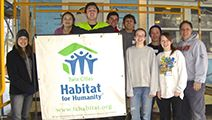 Sophomore Habitat For Humanity Retreat 2014