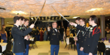 Military Ball Celebrated Cadets