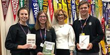 Outstanding Students Receive Book Awards