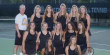 Future is Bright for Girls Tennis