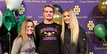 Three Raiders Sign for College Sports