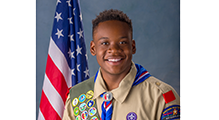 CDH Senior Naya Kamadi earns Eagle Scout Award