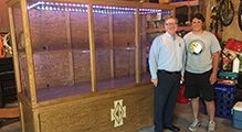 Senior Noah Peirson Achieves Eagle Scout with Handcrafted Cabinet for CDH