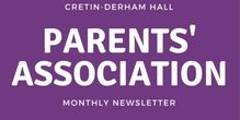 Parents Association - September News
