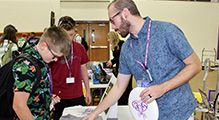 Students Learn about Co-Curricular Offerings at Activities Fair