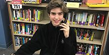 Meet Joey Rogers, a member of the Phonathon Calling Team