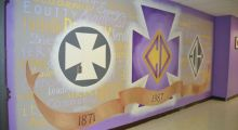 New Mural Created by Seniors in Leadership Academy