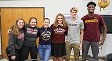 CDH Celebrates 2017 Fall NCAA Signing Day for Seven Student-Athletes