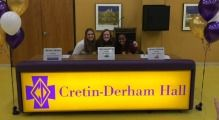 Three Students Sign National Letter of Intent