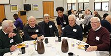 Cretin Class of 1954 Returns to Campus for Mass and Lunch