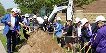 CDH Breaks Ground on New Entrance