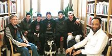 Hockey Players Visit East Side Freedom Library