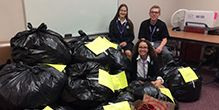 2017 Homecoming Coat Drive - A HUGE Success