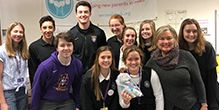 Respect Life Team Served at Second Stork