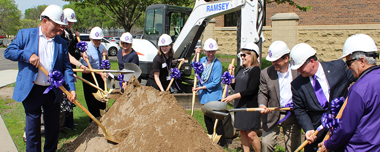 The ceremonial groundbreaking is the first step in an exciting construction project that will change the face of CDH.