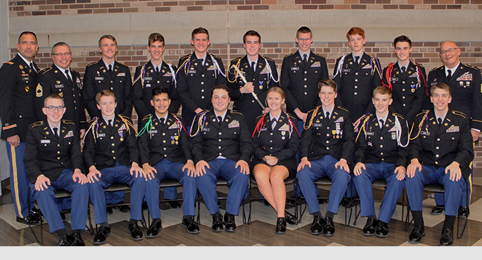 Congratulations to the 15 seniors who were promoted during this year's Diamond Promotions Ceremony!